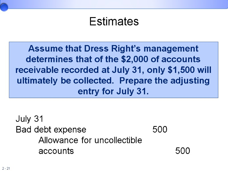 Review of the Accounting Process 2 Copyright ©