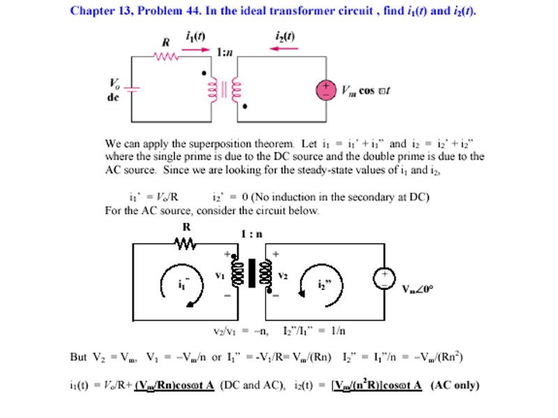 Problem 13 2 Determine the inductance of the three