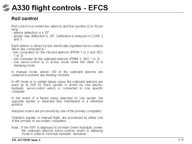 airbus a330 flight deck and systems briefing for rh present5 com Fault Management Flow Chart Not Your Fault