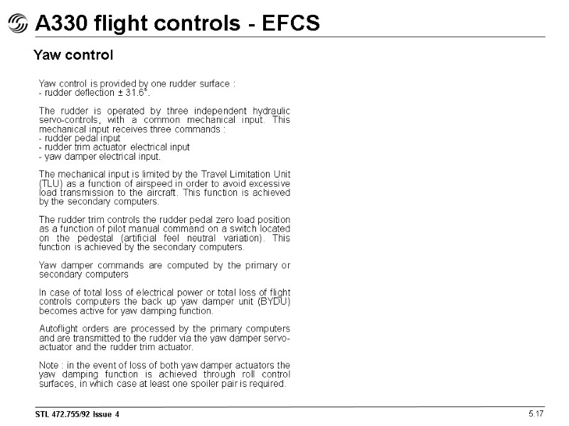 airbus a330 flight deck and systems briefing for rh present5 com Systematic Fault Isolation Flow Chart Not Your Fault