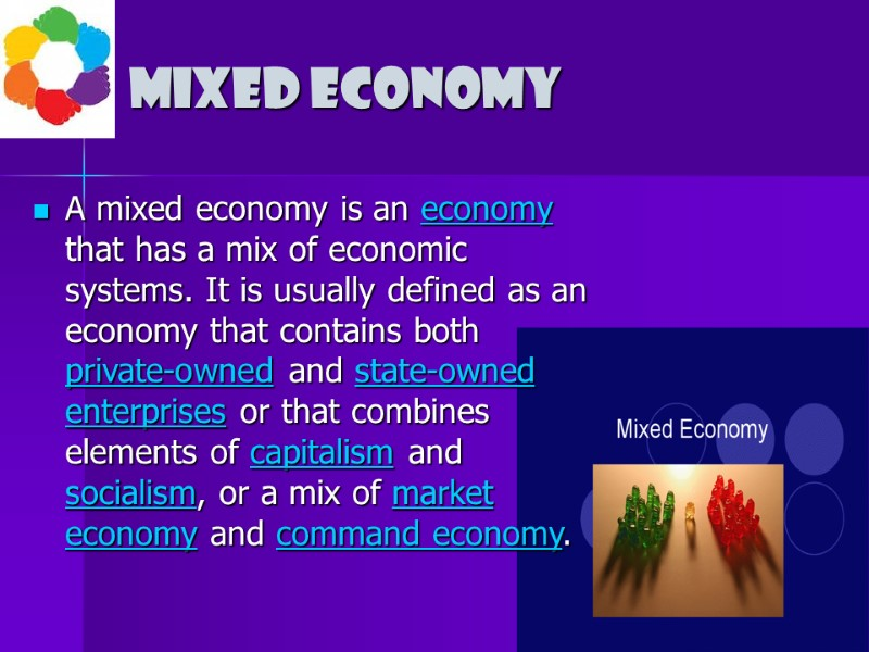 types of economic systems an economic system is