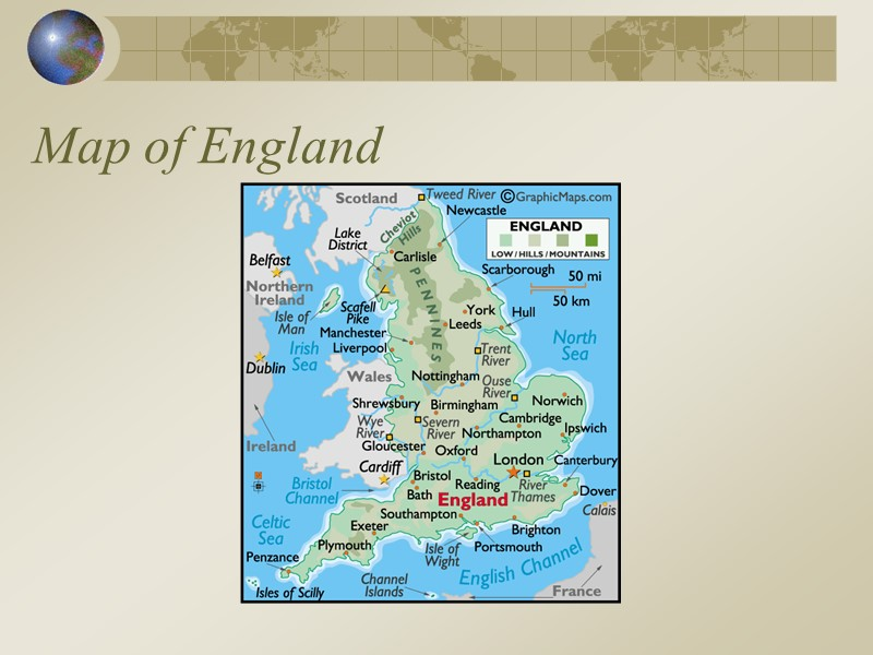 Let\'s Learn About England Where is England? Map