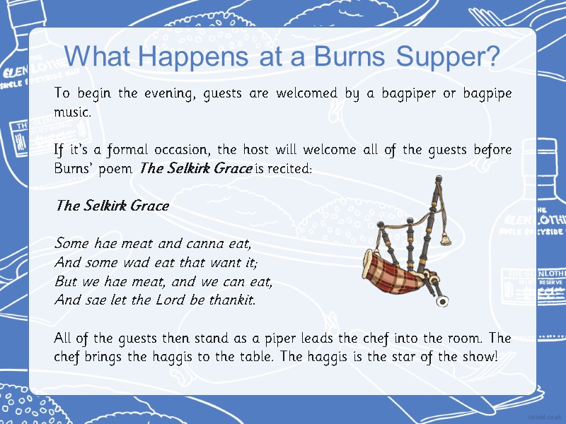 An Invitation To A Burns Supper Aim Cfe