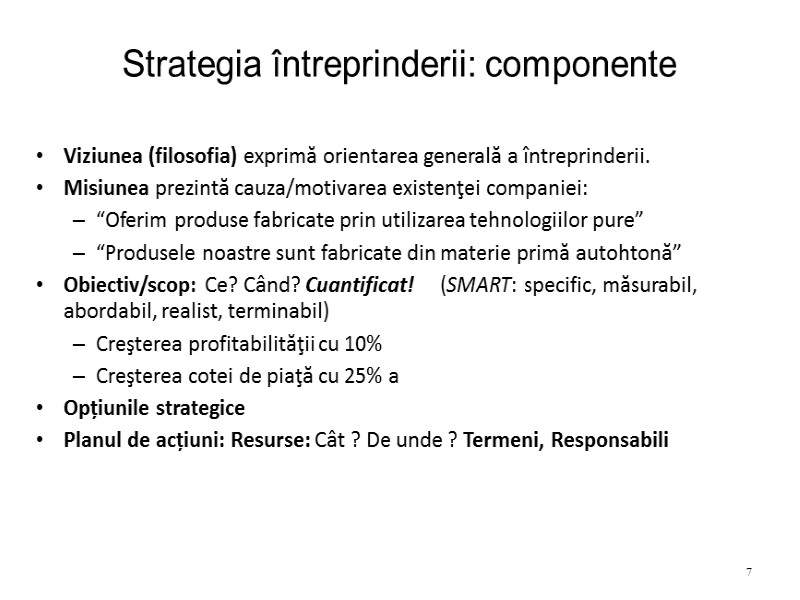 (DOC) STRATEGIA SI MANAGEMENTUL STRATEGIC AL FIRMEI | Coman Stefan - ghiddeturism.ro