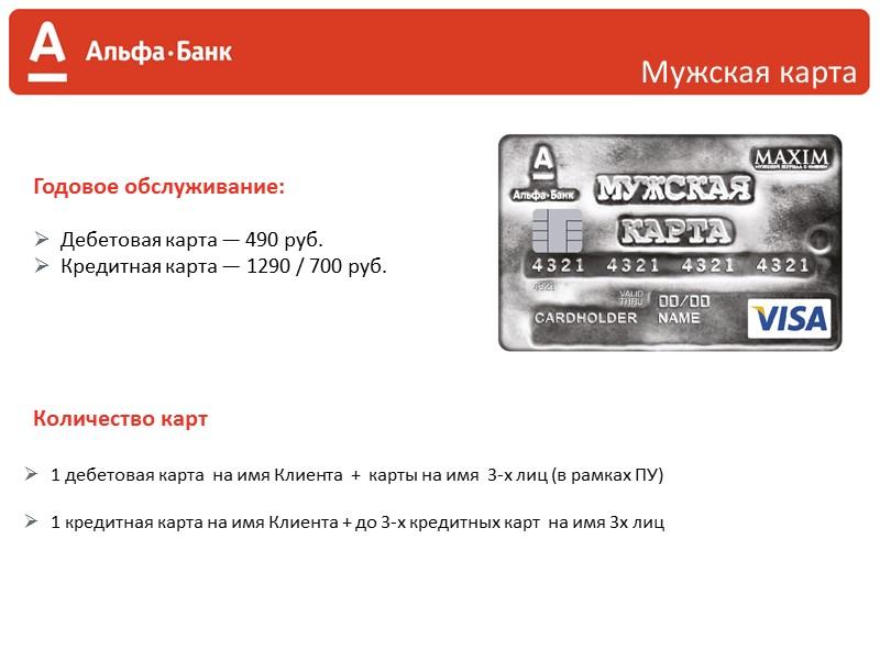 Anywayanyday Anywayanyday — Visa — Альфа-Банк — совместная кредитная карта участника бонусной программы сервиса