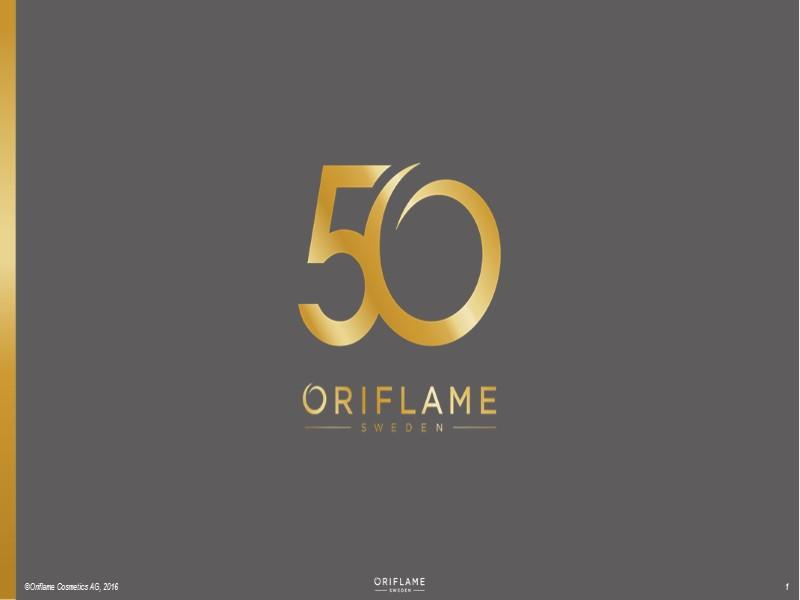 ©Oriflame Cosmetics AG, 2016 1