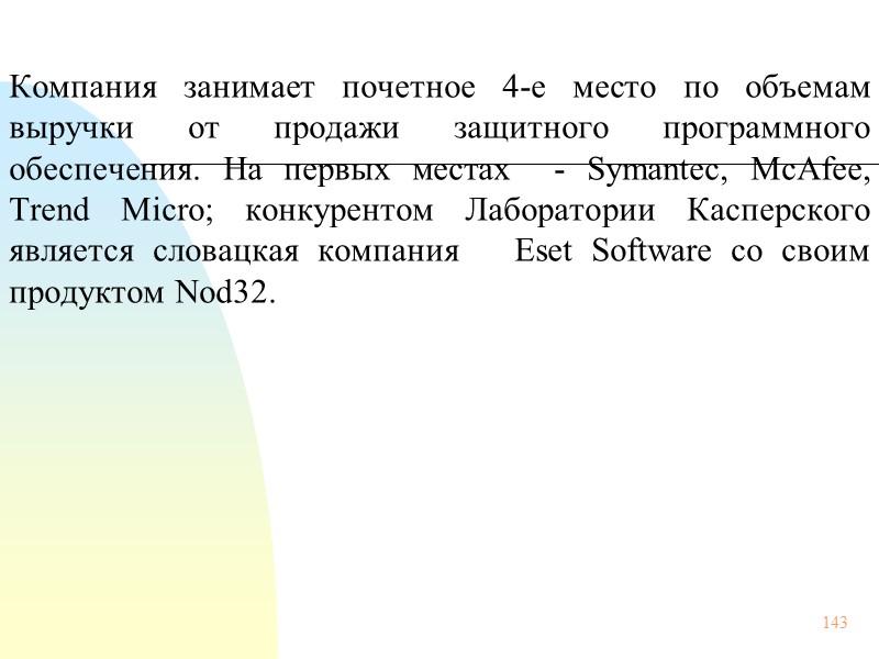 37 В чем специфика российского рынка антивирусных программ? Существуют ли у российских потребителей какие-либо