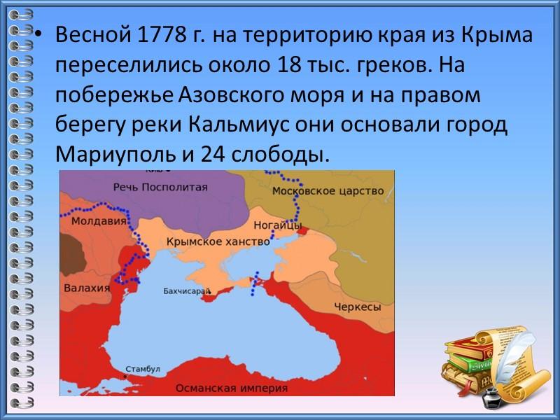Начало славянской колонизации края относится к VIII— IX вв. Территорию заселяли племена вятичей, радимичей