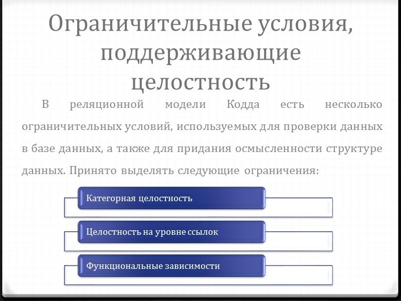 База данных В узком смысле слова, база данных — это некоторый набор данных, необходимых