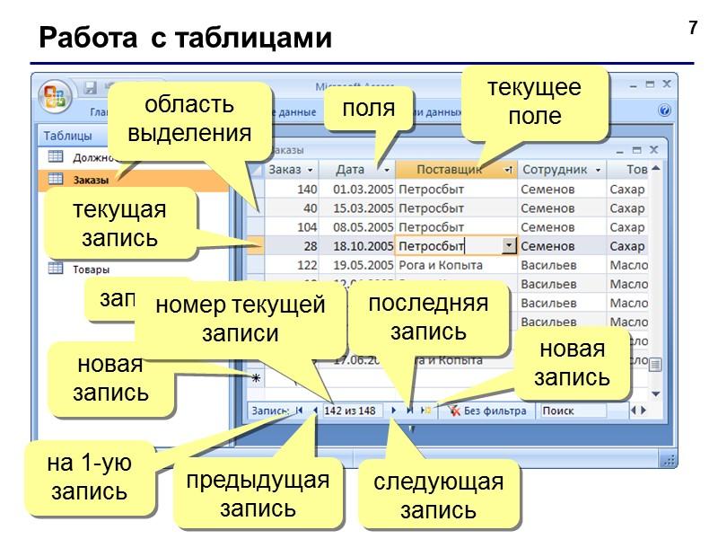 61 Запросы с параметрами Задача: вводить числовые данные для фильтра не в конструкторе, а