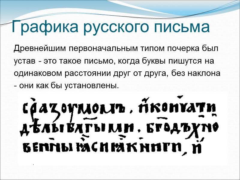 """Слоговое письмо    Слоговое или силлабическое письмо (от греч. """"sullabe"""" – слог),"""