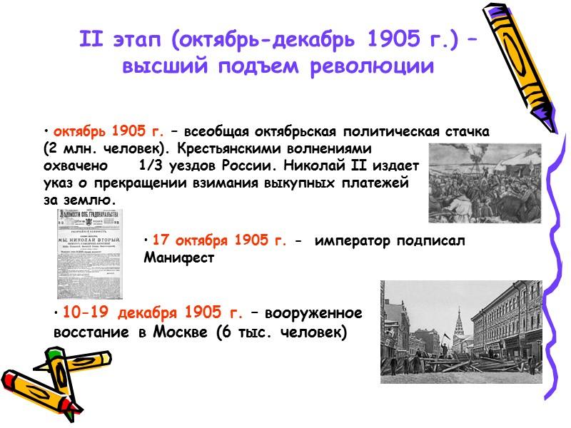 Россия в начале хх века. 1900 - 1903 гг.- экономический кризис  1904 -