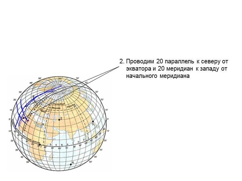 Карта по географии 6 класс полушария