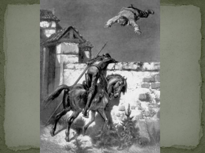 Дон Кихот на Росинанте