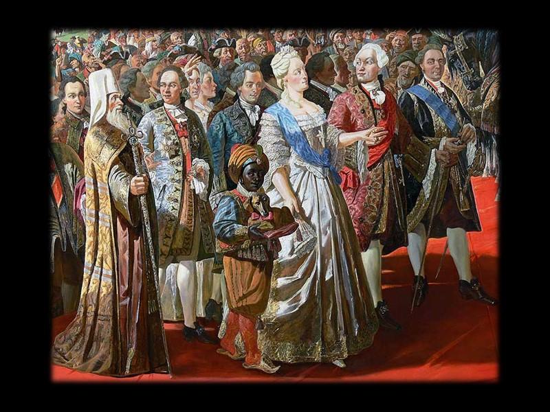 В  1763- 1764 провела секуляризацию (т.е. обращение в светскую собственность) церковных земель, что