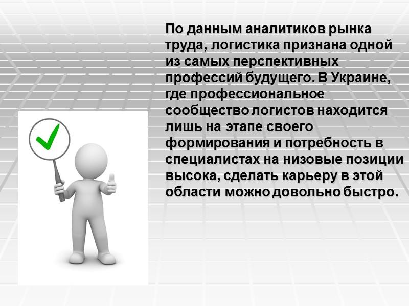 Информация Обеспечение логистических  систем информацией  в нужные сроки,  в нужном объеме