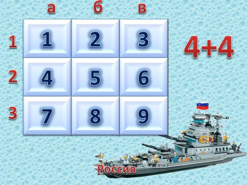 Россия  1 2 3 а б в 2 3 4 5 7 9
