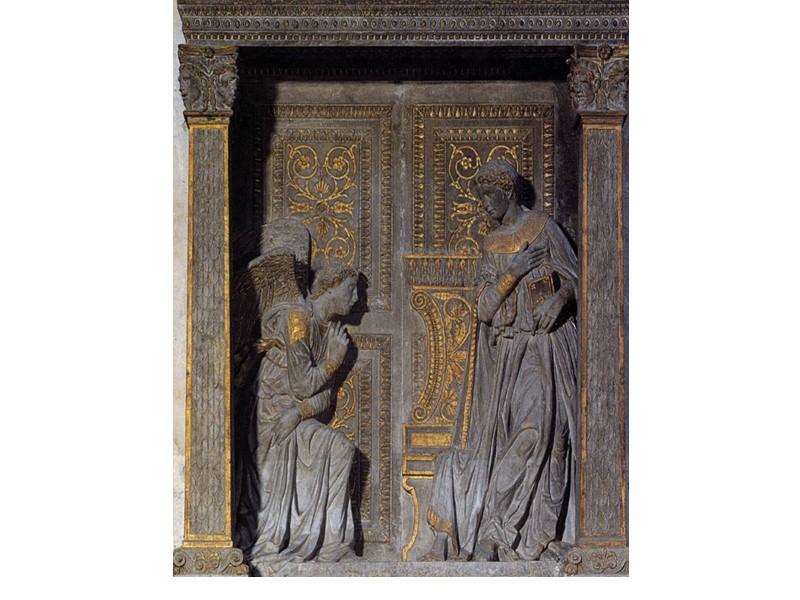 Кантория флорентийского собора. 1433-1439. Мрамор. Национальный музей Барджелло, Флоренция.