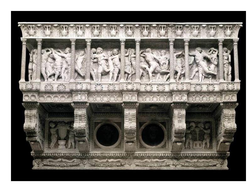Надгробная плита Джованни Кривелли (1432-1433)Мрамор. Санта Мария ин Арачели, Рим.