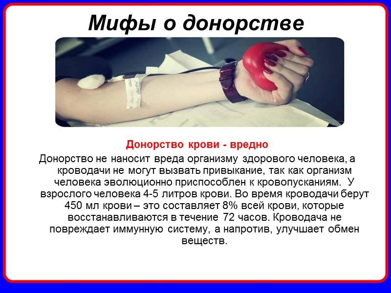 Кто может быть донором? Перед сдачей крови необходимо убедиться в отсутствии абсолютных или временных