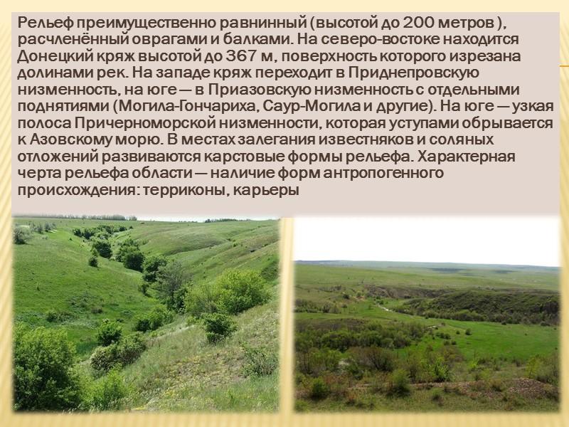 Перспектива Перспективным является освоение значительных по запасам месторождений редких (Мазуровское) и редкоземельных (Азовское) металлов,