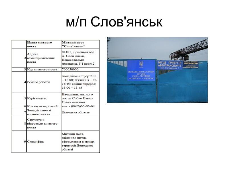 Донецька митниця ДФС – це морські, повітряні та сухопутні ворота Сходу України, довжина сухопутної