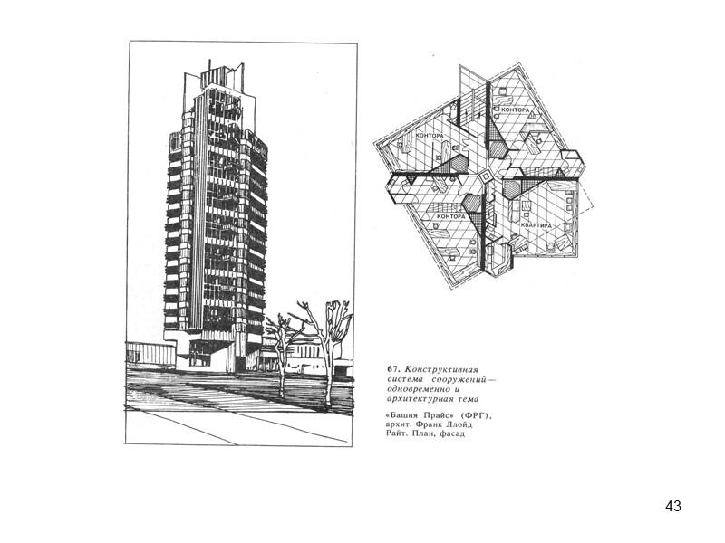 32 Устройство двухуровневых квартир и расположение коридоров через 1-2 этажа.