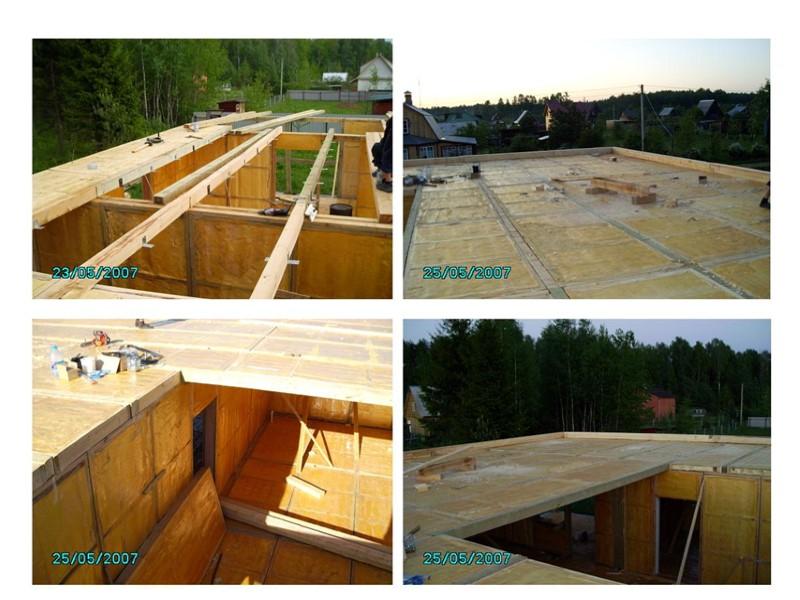 17 июня 2005 г. Республика Калмыкия.  Первый дом из каркасных камышитово-пенополиуретановых строительных панелей