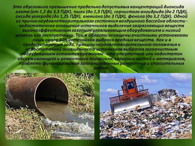 ТОП-20 городов и с наибольшим количеством выбрасываемых в атмосферу вредных отходов (2011 год):