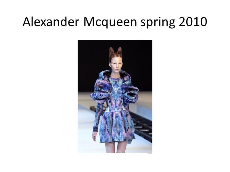 Бьерк 1997г. от Alexander McQueen