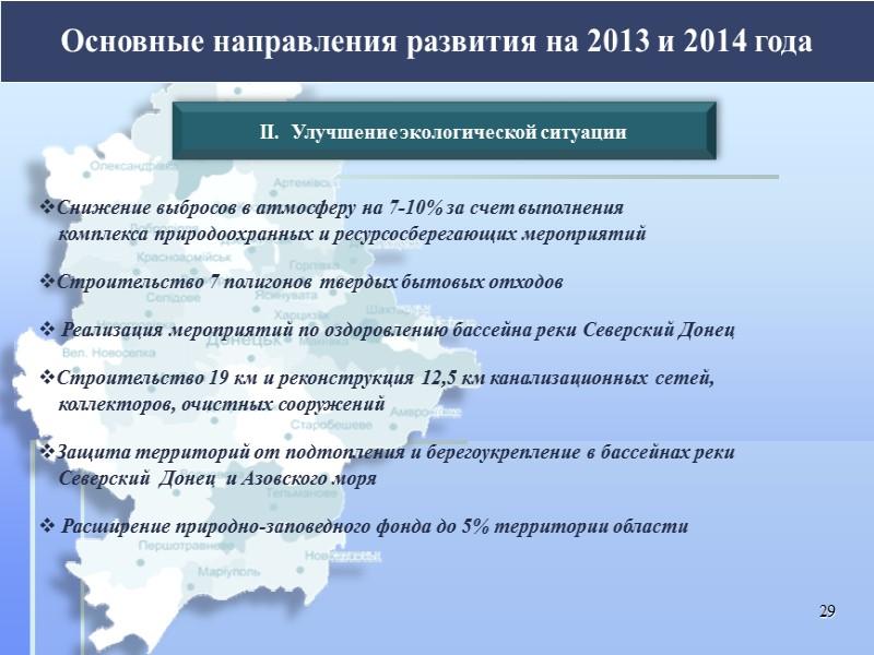 Основные тенденции экономического и социального развития Донецкой области 22 Динамика развития промышленности За январь-октябрь