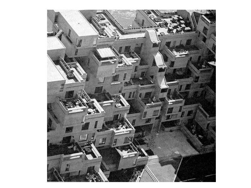 Блокированные жилые дома в посёлке Хален близ Берна (Швейцария). 1959—1961.