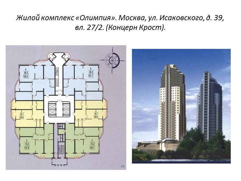 Дом для рабочих. Москва, ул. Стромынка. Арх. Н.Ладовский. 1924 г.  План 1-го этажа