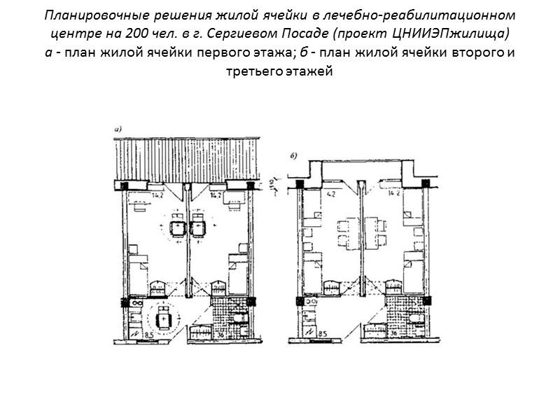 Такое планомерное развитие и широкое применение рассматриваемых зданий можно объяснить преимуществами планировочной схемы. Так,