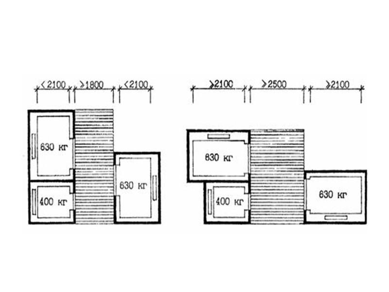 важно расположение и число лестниц, которые обычно проектируются в местах сочленения отдельных участков дома,