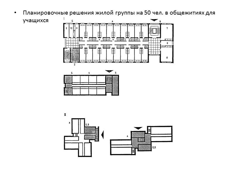 I - с односторонним размещением одно- и двухуровневых квартир вдоль внеквартирного коридора - 9