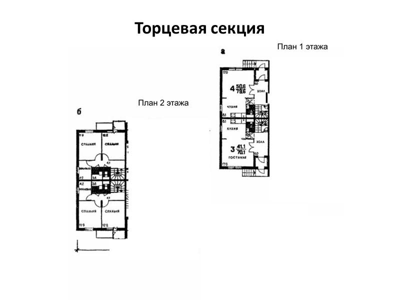 Террасные дома