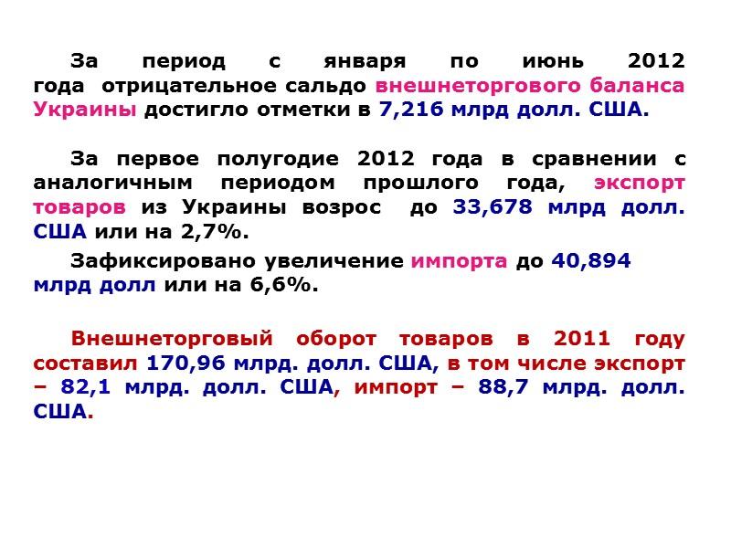 Географическая структура экспортных поставок Донецкой области в 2011 г., млн. долл. США