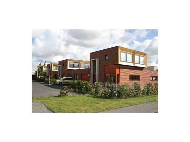 Существует четыре основных типа малоэтажной застройки высокой плотности: 1) сочетание традиционной малоэтажной застройки с