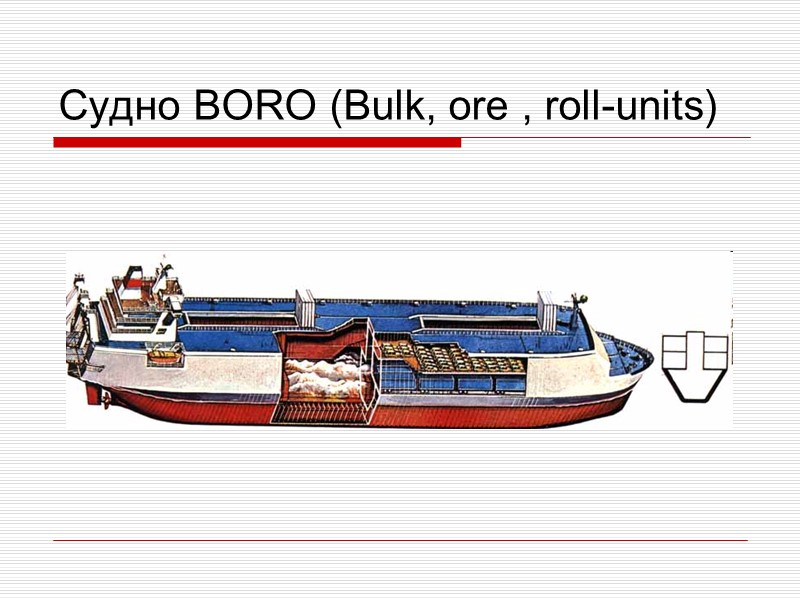 Лихтер Ли́хтер (нидерл. lichter) — разновидность баржи, грузовое несамоходное безэкипажное однотрюмное морское судно с