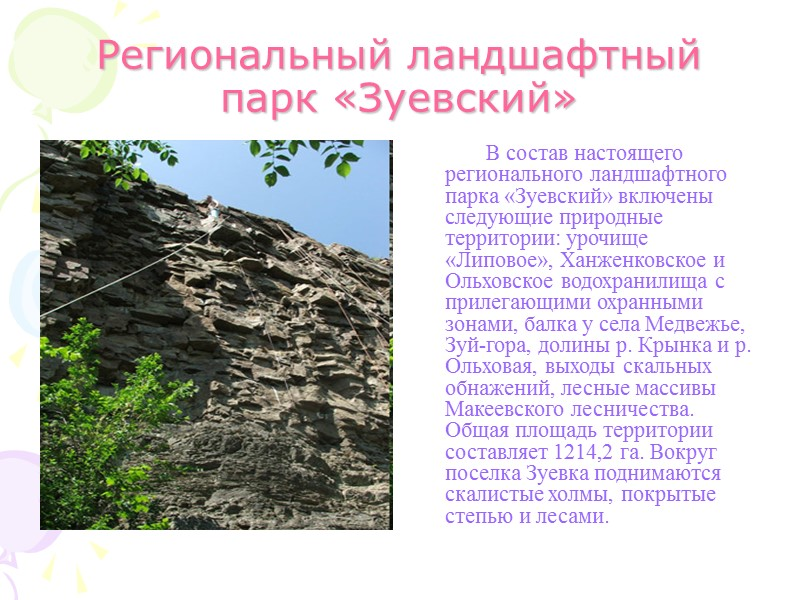 Дружковские окаменевшие деревья          Уникальный геологический
