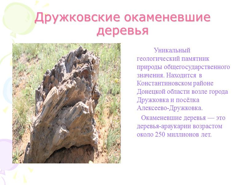 Степной заповедник «Каменные Могилы»          На