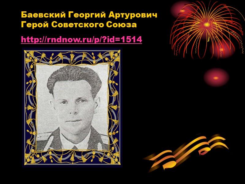 Щербаков Николай Митрофанович Герой Советского Союза http://rndnow.ru/p/?id=7239