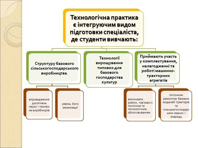 функції технологічної практики
