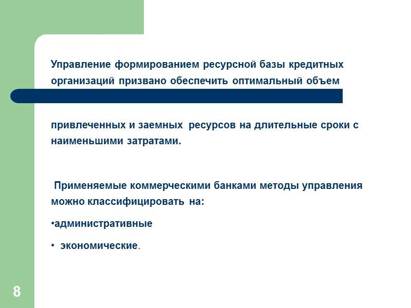 39 Управление капиталом   Расширение депозитной базы банка приводит к возрастанию риска и