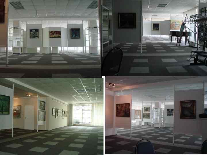 Место проведения Выставочный искусств (фото)