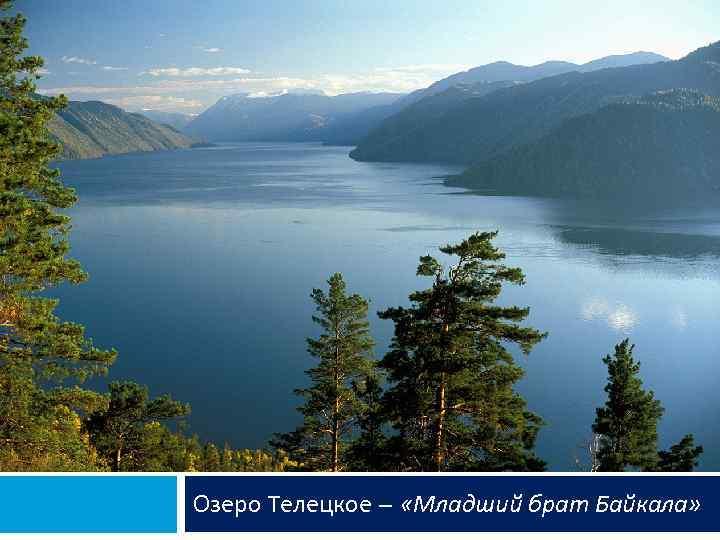 Озеро Телецкое – «Младший брат Байкала»
