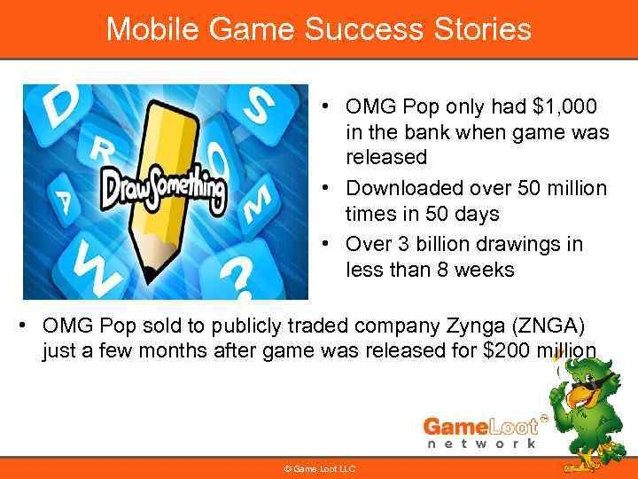 Mobile Game Success Stories • OMG Pop only had $1, 000 in the bank