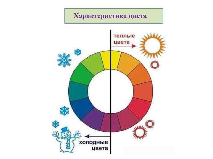 Характеристика цвета