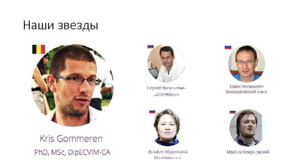 Наши звезды Борис Зиновьевич Белоцерковский к. м. н.